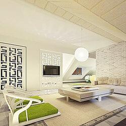 300平米中欧混搭风格复式别墅装修案例欣赏 简装别墅/豪宅复式200图片