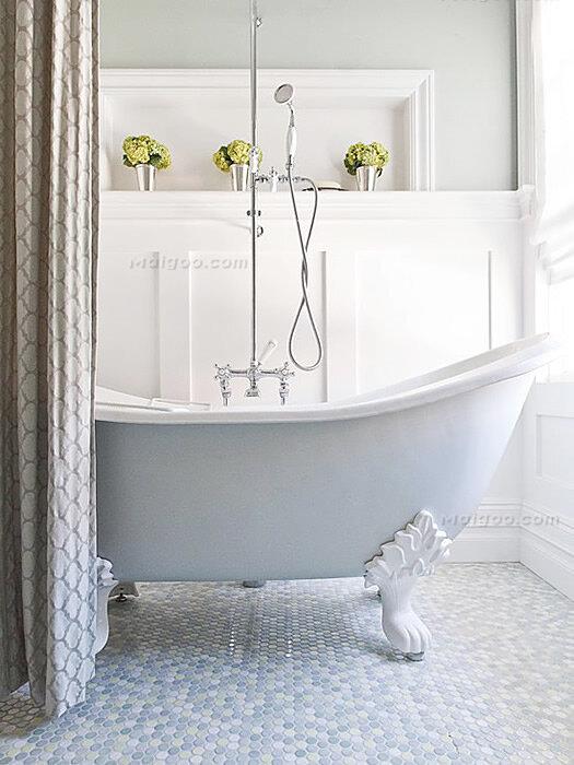 浴室装修效果图欣赏 家庭卫生间效果图大全