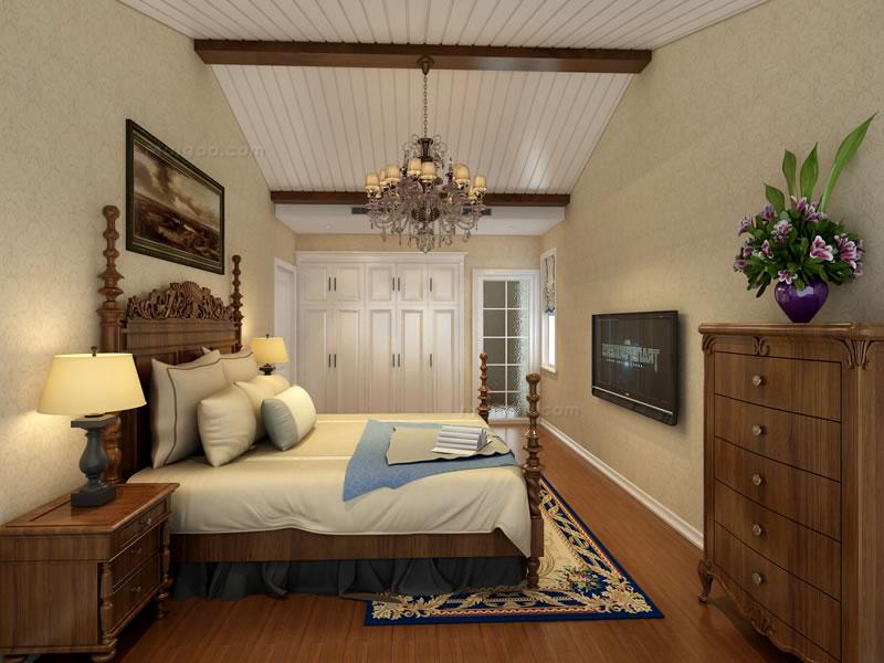200平方房屋设计图 欧式古典复式装修效果图图片