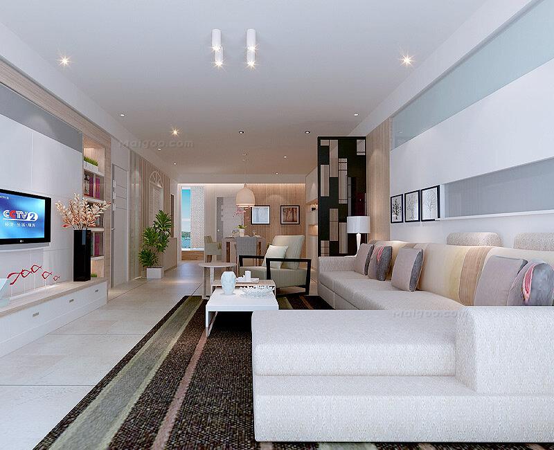100平米房屋装修效果图 100平米三居室效果图
