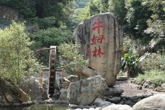 永春牛姆林,被誉为闽南西双版纳的生态旅游区,坐落在福建省泉州市图片