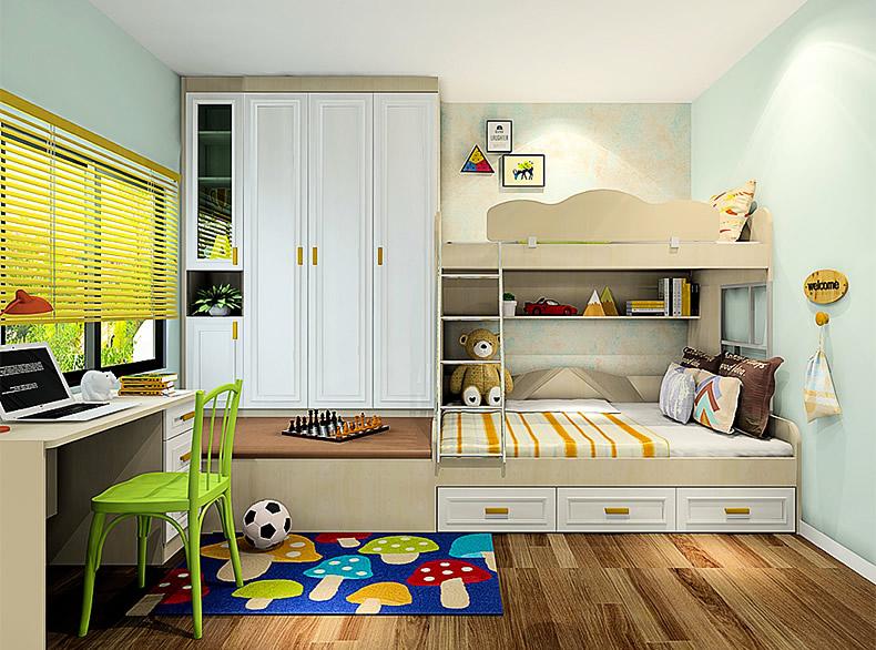 【尚品宅配】儿童房家装定制装修图片 孩子们都爱的家居设计图片