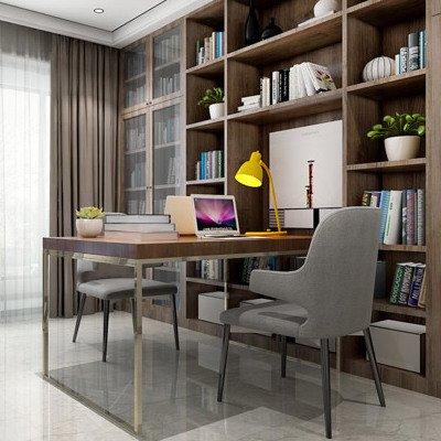18万打造英式田园风格 146平三房两厅室内设计效果图图片