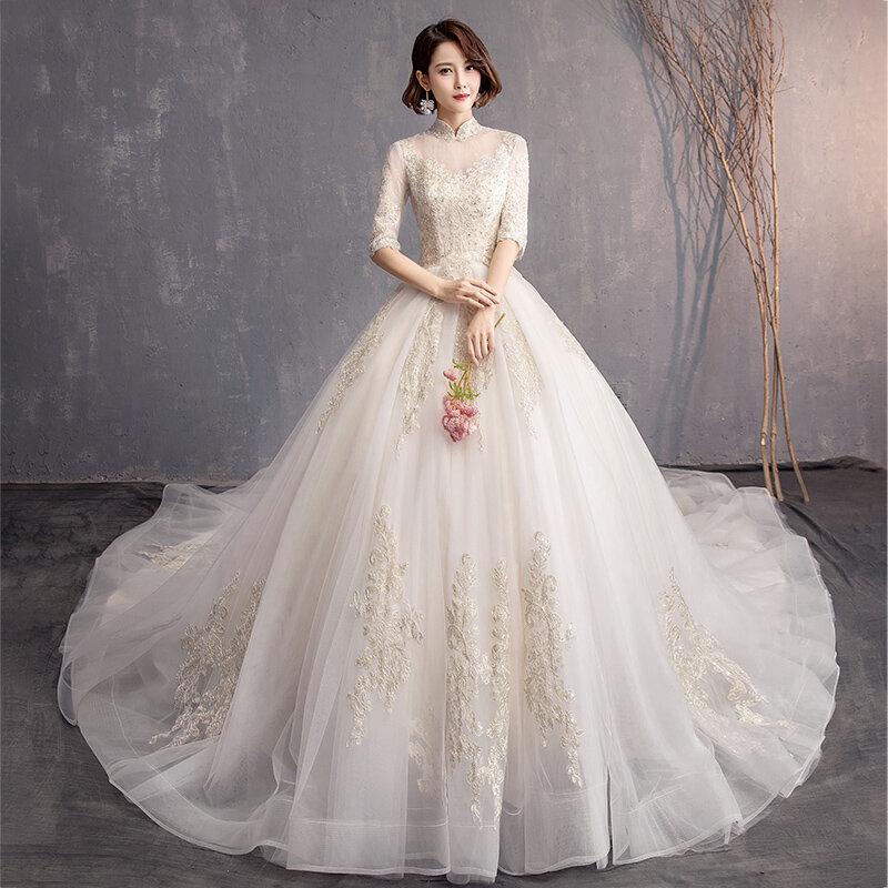 齐地婚纱图片大全 各种款式齐地婚纱产品图欣赏【15图图片