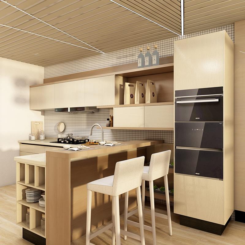 韩式厨房装修效果图 韩式厨房设计图片欣赏