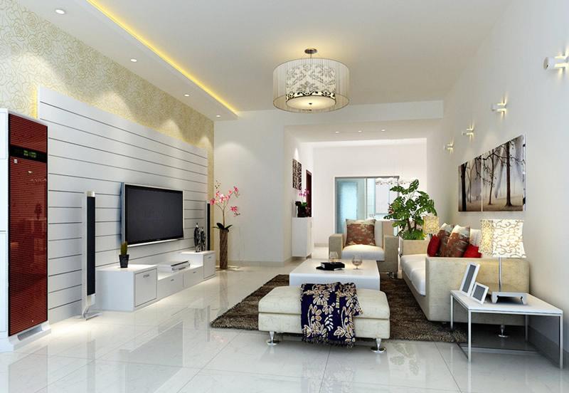 客厅灯带效果图推荐 营造靓丽迷人空间