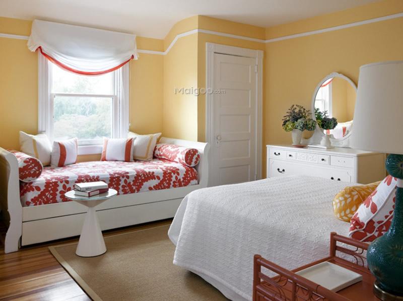 【卧室飘窗设计】卧室飘窗装修效果图 梦幻打造浪漫新图片