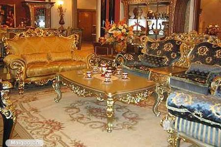 巴洛克风格 欧式家具尚金奢华图片
