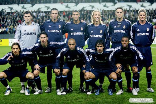 皇家馬德里隊歷史最佳陣容都有誰?圖片