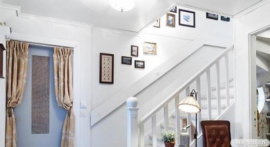 180平米装修效果图——复式楼楼梯设计