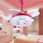 儿童房吊扇灯